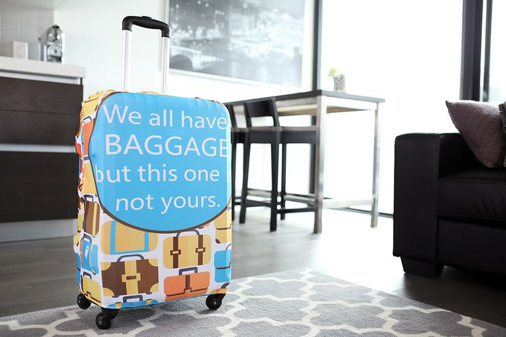 It's travel season! Get yourself ready with our protective luggage cover. See more - https://www.tidyliving.com/catalogsearch/result/?q=luggage+covers #TidyLiving #Luggage #Travel