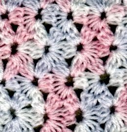 Crochet Jasmine Stitch Pattern : ... different crochet stitches. Enjoy yourselves www.crochet.com.a... More