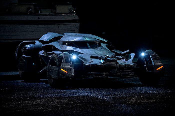 Batmobile in Batman V Superman: Dawn of Justice.