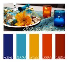 indian color palette - Google Search
