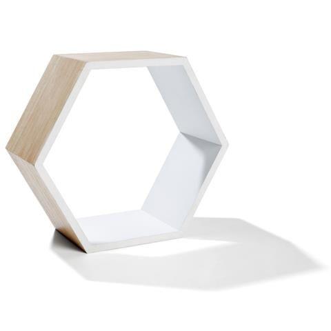 Hexagon Shadow Box Brown Brown Home Decor Shadow Box