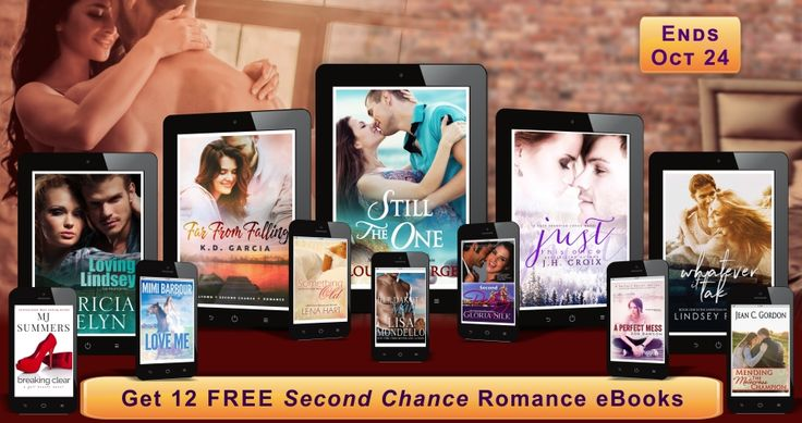 *¨*•*´¨Claim Your 12 Free *¨*•*´¨ Second-Chance Romance eBooks Pick 1 or claim them All. Books download safely to your device via Instafreebie*. All books are full-length. All books are no-cost. Ends Tuesday, Oct 24. You will be asked for your email address. Happy Reading! http://mailchi.mp/ebookdiscovery/free-ebooks-romance Related