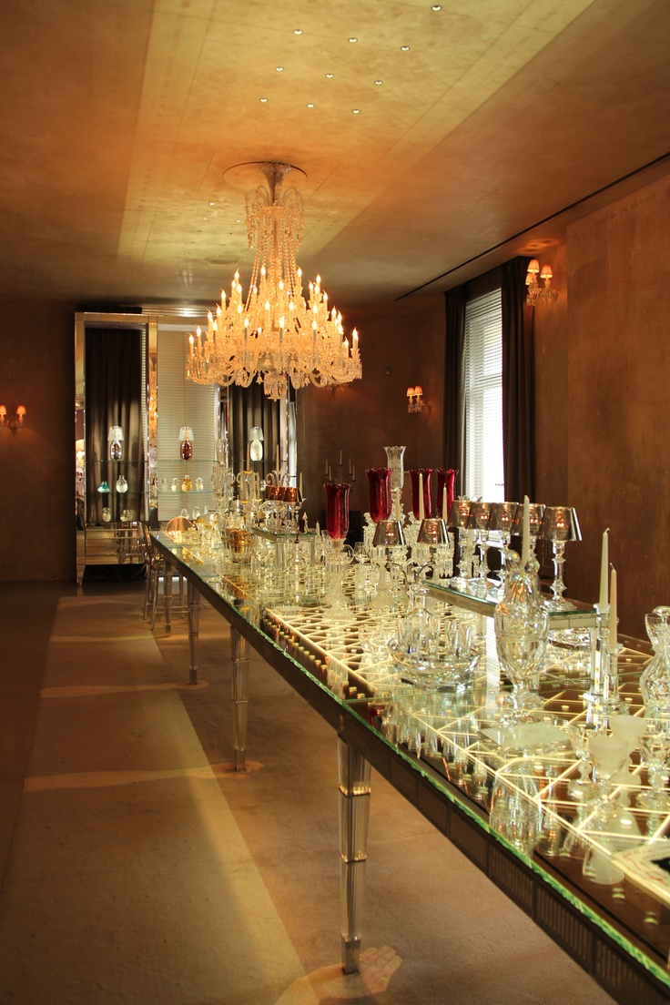 The Studio Harrods visits Maison Baccarat