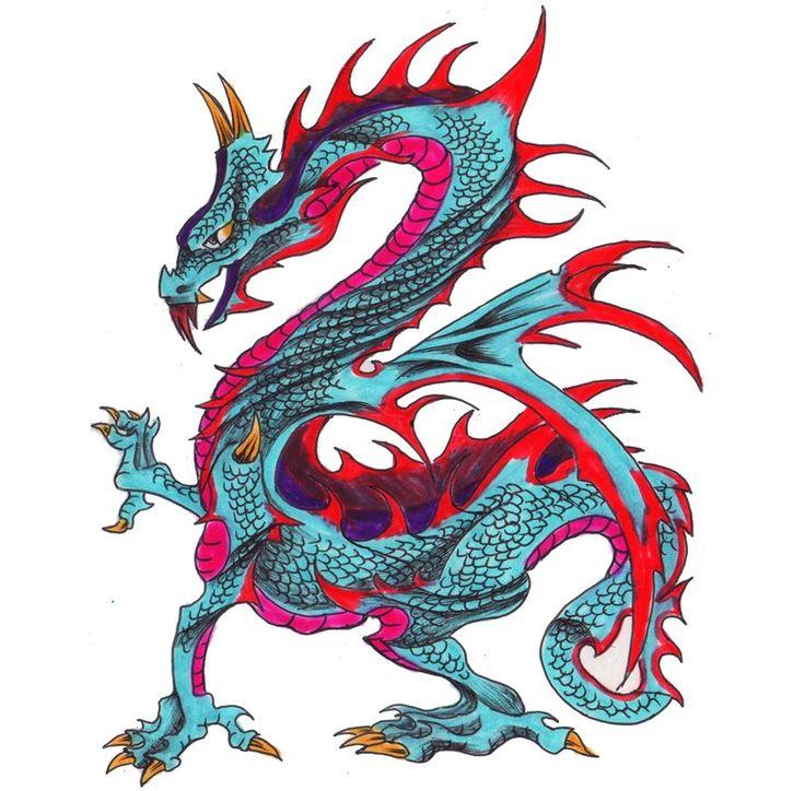 Types Of Dragon Tattoo Ideas: 1000+ Ideas About Tribal Dragon Tattoos On Pinterest