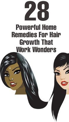 28 Powerful Home Remedies For Hair Growth really great tips you should not miss it !!