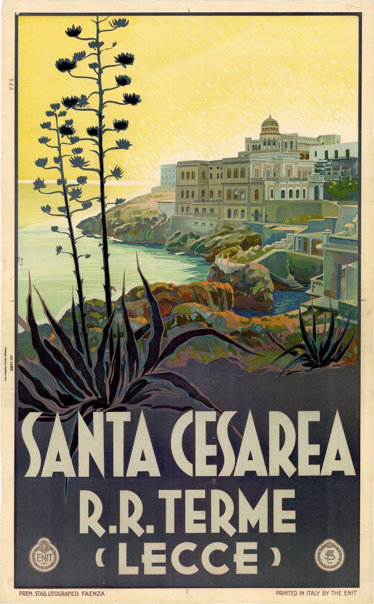 TVintage Italian Posters ~ #illustrator #Italian #posters ~ Italy
