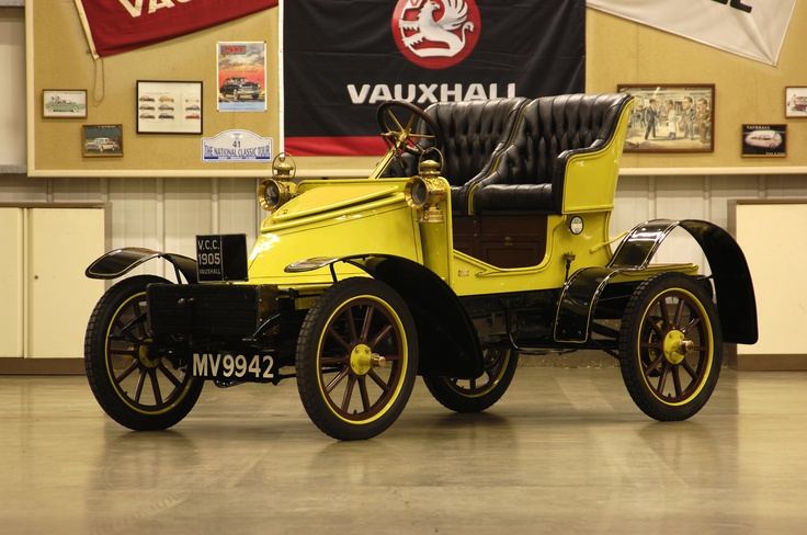 1905 Vauxhall 7/9HP, 3-Cylinder, Two-Seater