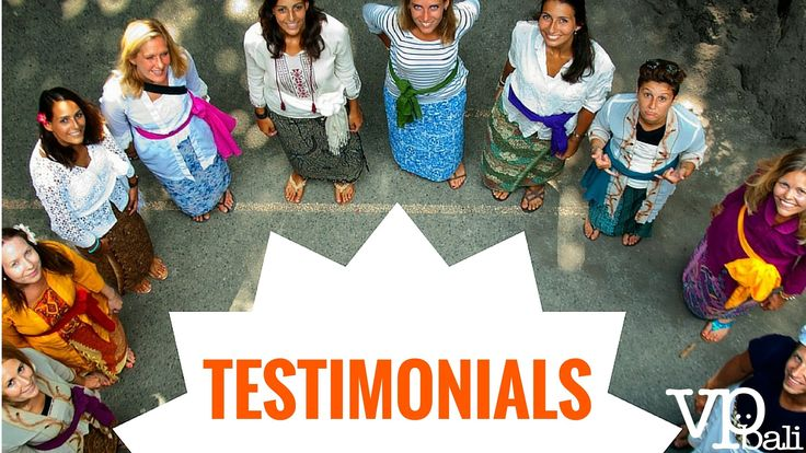 Here are some testimonials of our volunteers!
