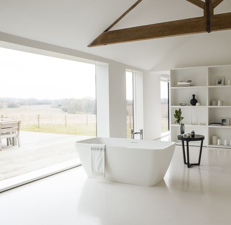 A striking bath counterbalanced with attractive curved ends - Vicenza Grande ClearStone Bath from Clearwater Baths. http://www.clearwaterbaths.com/Products/ProductDetail?prodId=96026&name=Vicenza%20Grande