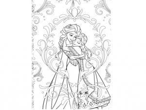 1000 images about coloriages princesses frozen reine des neiges on pinterest disney mulan - Dessin a imprimer la reine des neiges ...