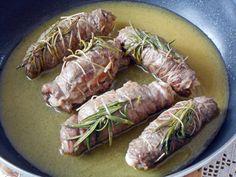 Involtini di Vitello con Pancetta e Formaggio