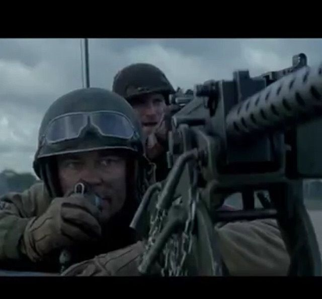 Scott Eastwood in Fury. You can barely see him behind Brad Pitt but he's there. ;)