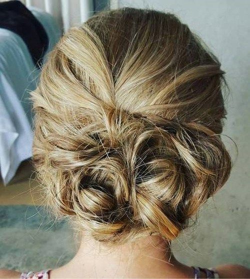 Low Messy Updo