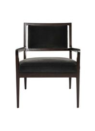 clooney chair wood lounge chair by erinn v