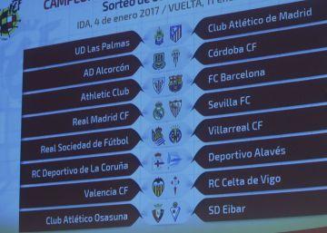 La Copa toma altura con el Madrid-Sevilla y el Athletic-Barcelona