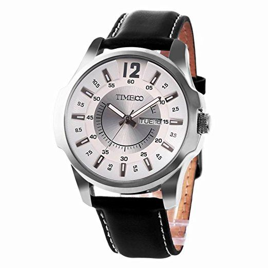 Multifunction leather fashion watch/Waterproof watch/Male quartz watch/Watch/Men's Watch-D