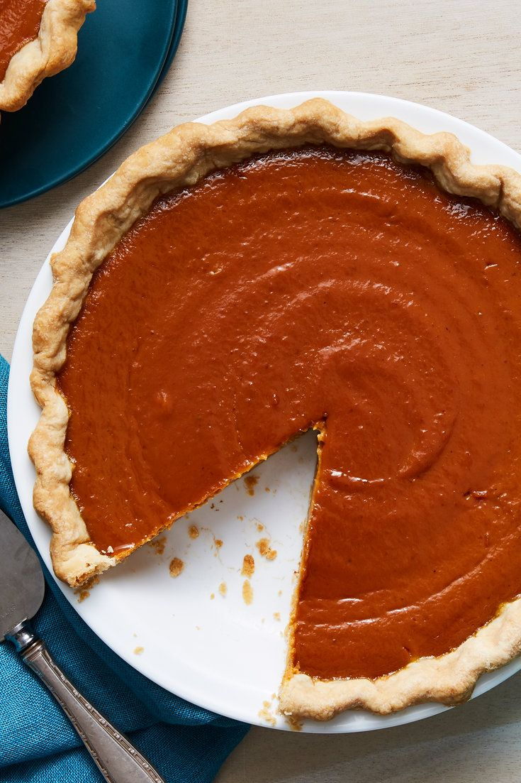 Image For Spiced Pumpkin Pie Pumpkin Pie Recipes Pumpkin Pie Dessert Recipes