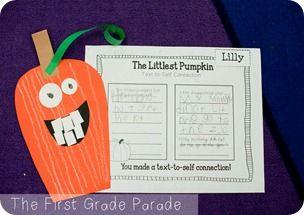 The First Grade Parade: The Littlest Pumpkin