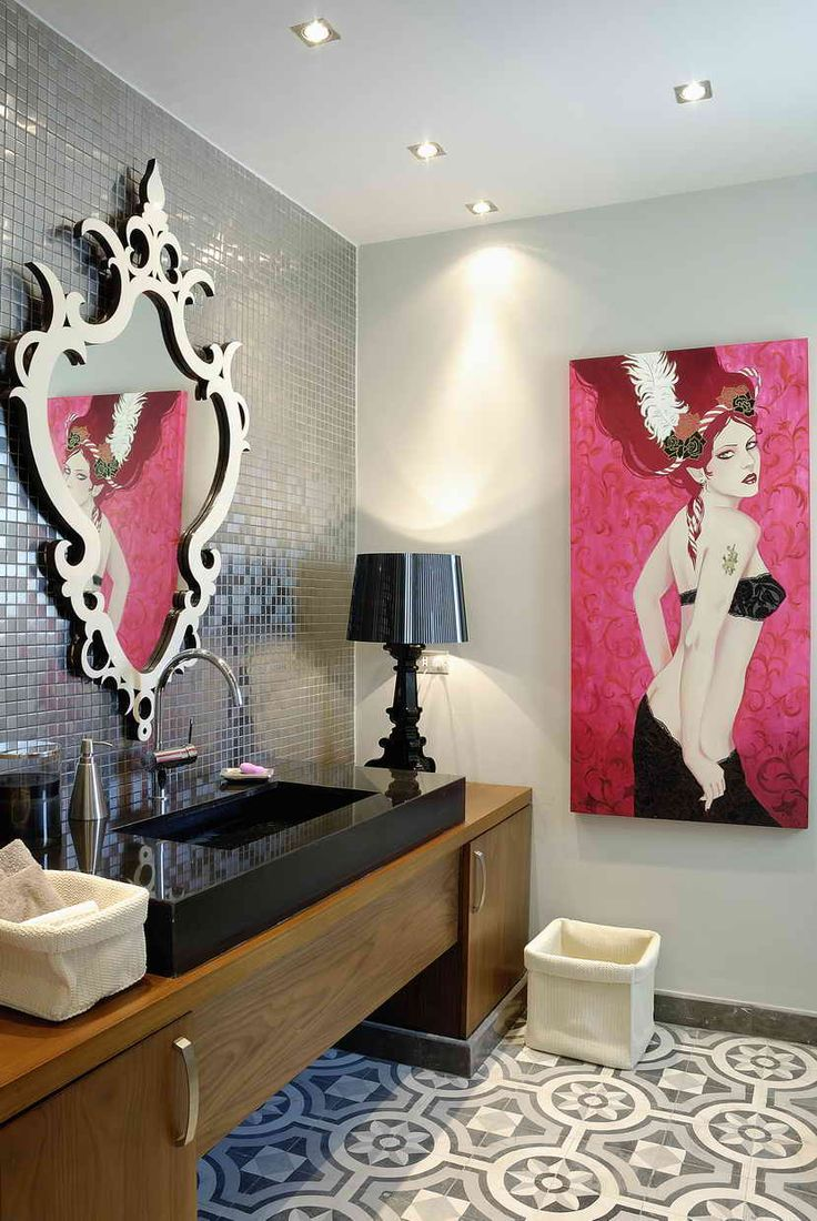 Art Meets Design In This Villa Gouna Interior Project Painting By