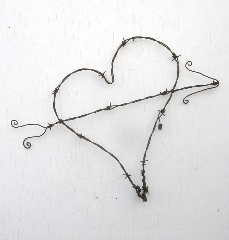 147 best Barbed Wire images on Pinterest | Barb wire crafts, Barbed ...
