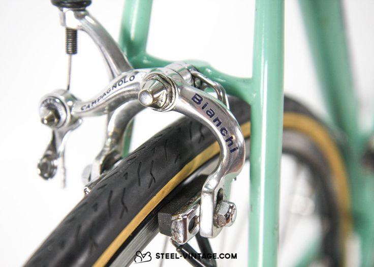 Steel Vintage Bikes - Bianchi Specialissima Celeste Vintage Road Bike