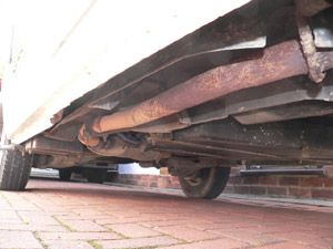 VW T4 Transporter  Chassis  Rust