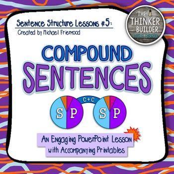 Sentence Structure Lessons #5: Compound Sentences