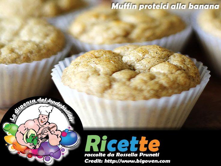 Muffin proteici alla banana