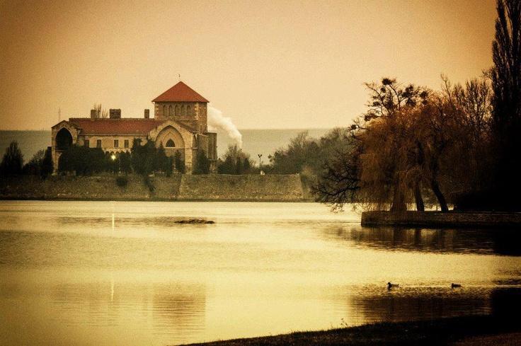 Öreg Lake and the Castle of Tata, Hungary