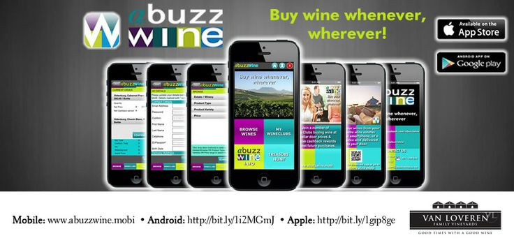 We're happy to announce you can now buy our wines through Abuzz Wine! Simple and easy – whenever, wherever! Just follow the links: Mobile: www.abuzzwine.mobi Android: http://bit.ly/1i2MGmJ Apple: http://bit.ly/1gip8ge