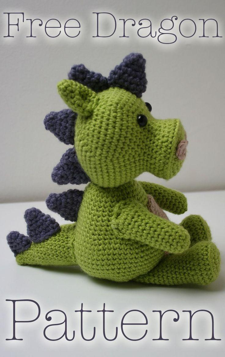 Free Crochet Stuffed Dragon Pattern : 25+ best ideas about Crochet Dragon Pattern on Pinterest ...