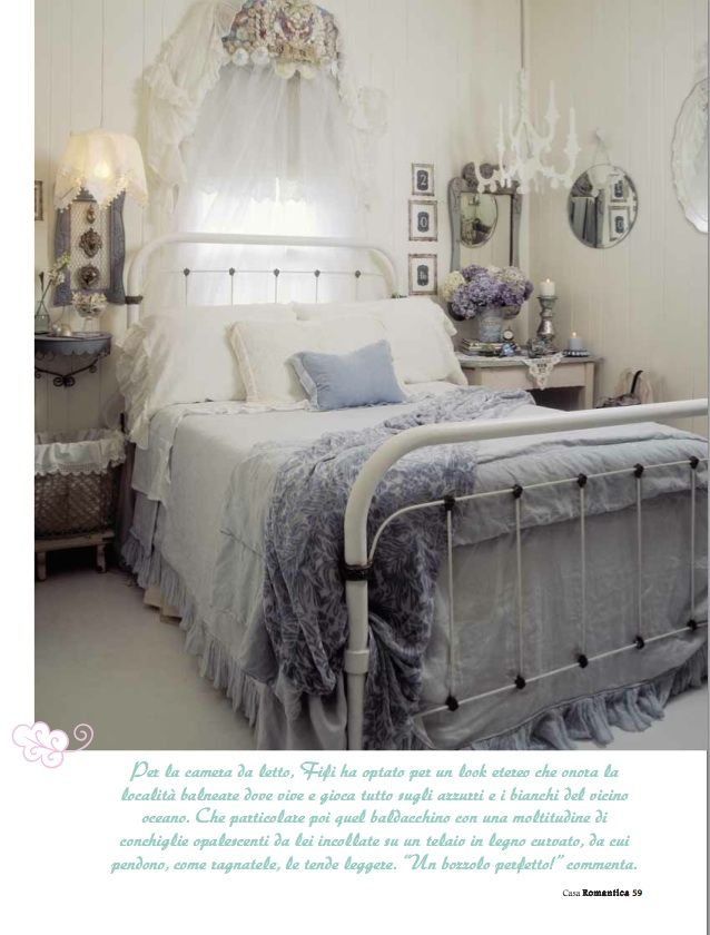 Bedroom Whitewashed Cottage Chippy Shabby Chic French