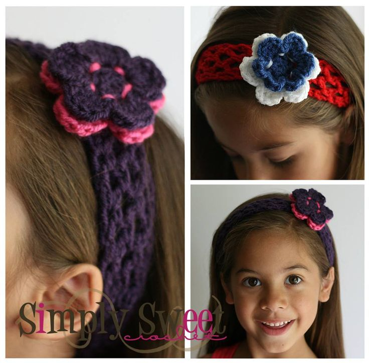 34 best Cute Free Crochet Hair Accessories Patterns images on ...