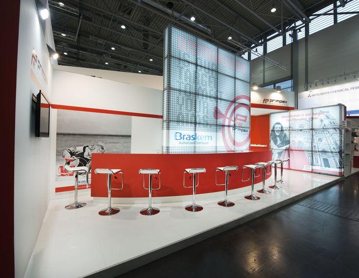 K - Messe Düsseldorf. PRIMPEX. Ricerca, analisi, promozione e comunicazione. Progettazione e realizzazione dell'allestimento dello stand. Photo by honegger