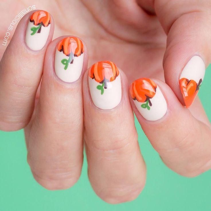 121 best halloween nails makeup images on pinterest halloween tasty designs in fall nail art picture 2 prinsesfo Choice Image