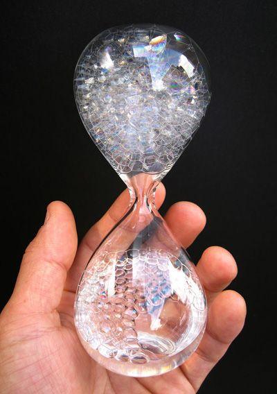 5,250円 時間を「計る」のではなく「楽しむ」泡時計 『awaglass』 の写真