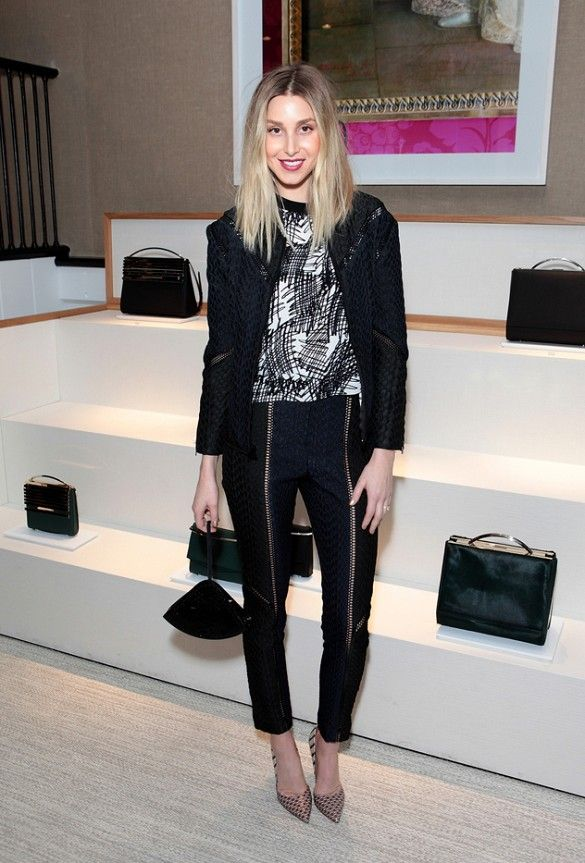 """Whitney Port preaches the importance of Twitter, Instagram, etc. - """"social media empowers people"""""""