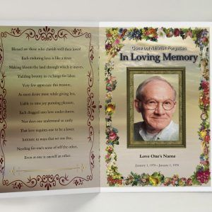 33 best obituary program template images on Pinterest