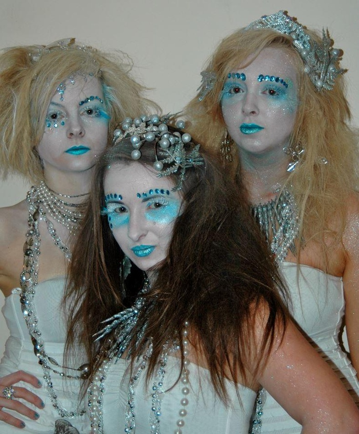 Ice Queens for Christmas Fancy Dress Competition