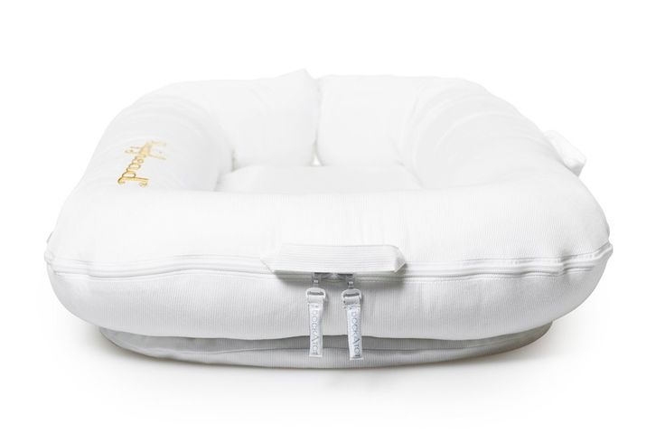 Sleepyhead Deluxe Pod (0-8 Months, Pristine White): Amazon.co.uk: Baby - Not sure if we'll need this, very pricy at £99 but apparently really great for babys to feel snug and sleep well