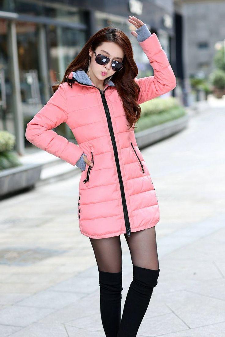 Wadded Jacket Female New Women's Winter Jacket Down Cotton Jacket Slim Parkas Ladies Coat