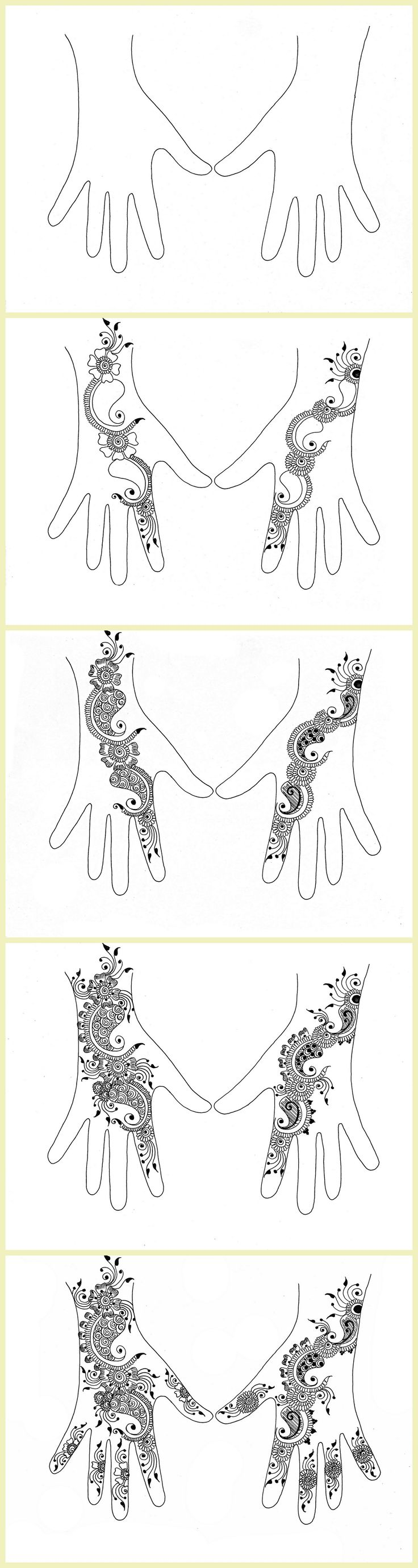 1000 Ideas About Henna Tutorial On Pinterest Henna Easy Henna