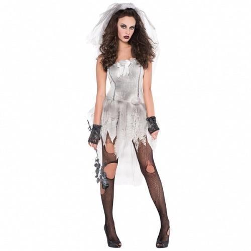Cadılar Bayramı / Halloween partilerinin en popüler kostümü ölü gelin kostümü