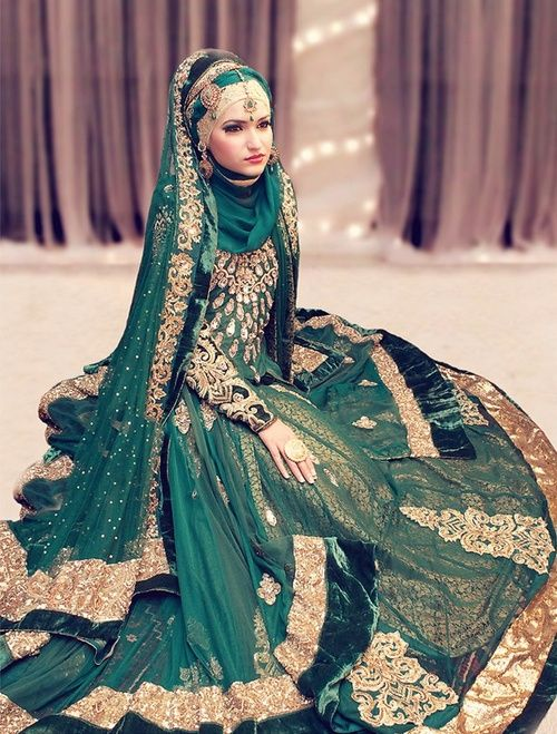 indian wedding dress muslim