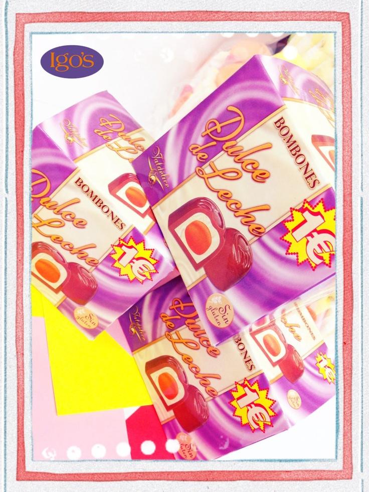 Bombones de dulce de leche... duliciosos ;)