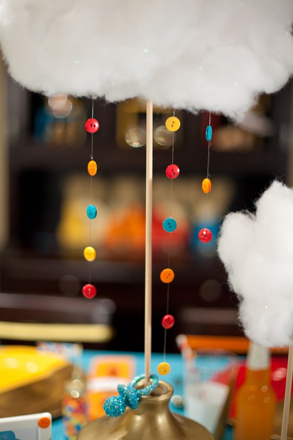 17 best images about girl scout ceremony 39 s on pinterest for Cloud centerpieces
