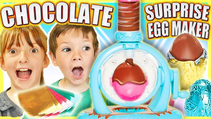 chocolate egg surprise maker instructions