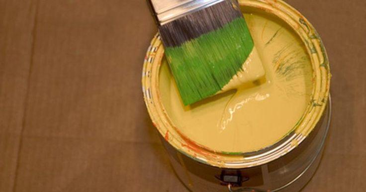 mezcla de pintura acrilica