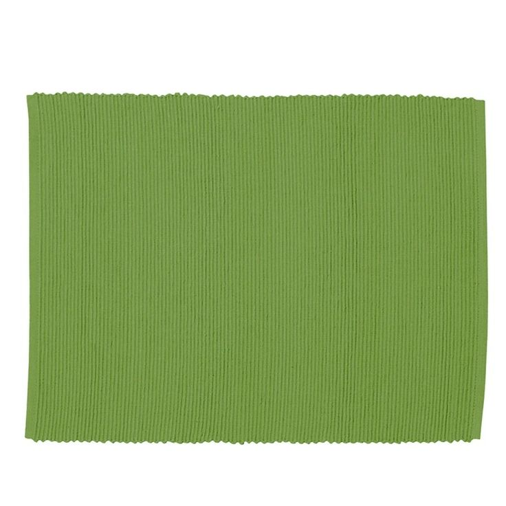 Gran ribbed table mats come in a set of 4 are sophisticated & simple in fresh moss green. Great for entertaining or everyday they bring a cool, minimal elegance to your dining whether traditional or contemporary. They look great with our matching gran Moss Green Runner & our range of napkins.. Linum Design is a classic brand of modern Swedish design with a strong belief in high quality textiles that are produced with both the environment & sustainability in mind. This is a set of 4.