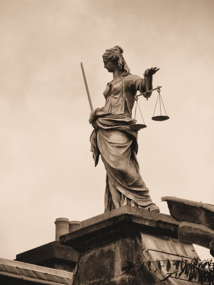 Lady Justice in Ireland. It relates to my life because I want to follow a law enforcement career